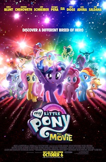 The poster for My Little Pony, The Movie