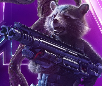 Rocket in 'Avengers: Infinity Wars'