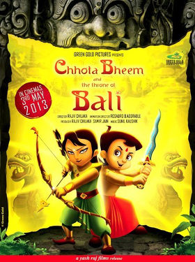 'Chhota Bheem and the Throne of Bali' poster
