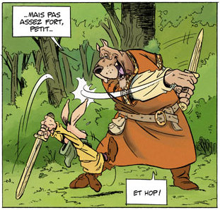 Extract from 'L'Épée de Ardenois' tome 1, 'Garen'
