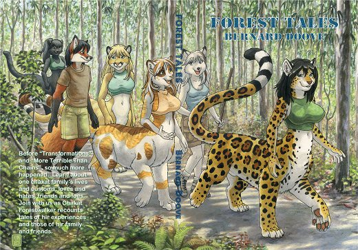 'Forest Tales'; cover by Kacey Miyagami