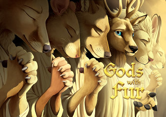 Gods with Fur; cover by BlackTeagan (Teagan Gavet)