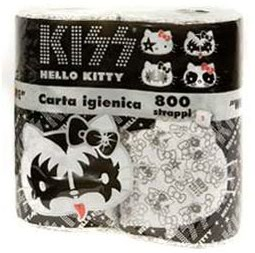 Hello Kitty/KISS toilet paper
