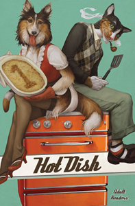 Cover to 'Hot Dish, vol. 1', by Kamui