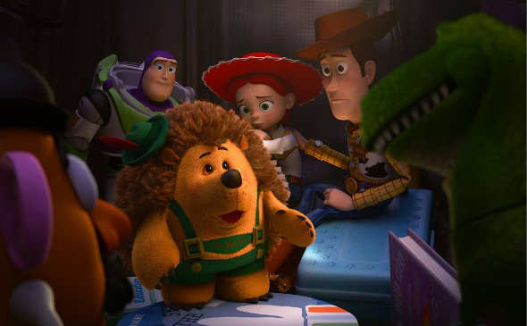 Mr. Pricklepants in 'Toy Story of Terror'