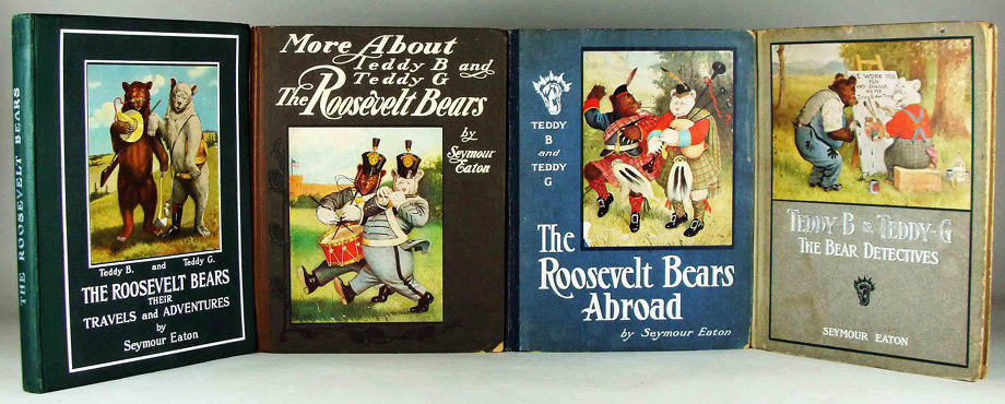 The Roosevelt Bears; More About Teddy B and Teddy G, the Roosevelt Bears; The Roosevelt Bears Abroad; Teddy-B & Teddy-G, The Bear Detectives