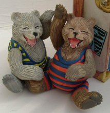 Roosevelt Bears resin dolls