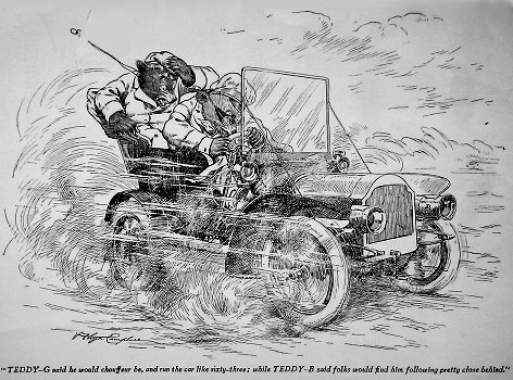Roosevelt Bears Racing Car