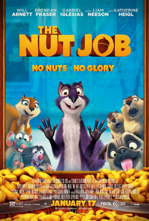 'The Nut Job' poster