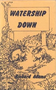 'Watership Down' 1st UK edition cover