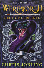 British cover: 'Wereworld: Nest of Serpents'