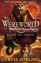 British cover: 'Wereworld: Rage of Lions'