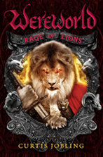 U.S. cover: 'Wereworld: Rage of Lions'