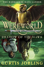 British cover: 'Wereworld: Shadow of the Hawk'