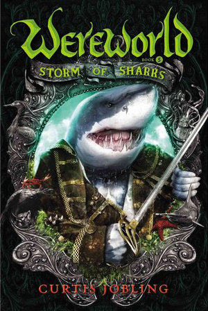 Wereworld: Storm of Sharks (US cover)
