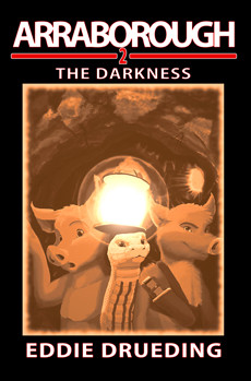 Cover to 'Arraborough: The Darkness'