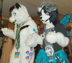 Califur 2012 fursuit parade