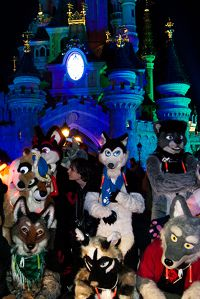 Disneyland Paris Halloween 2011 fursuiter trip