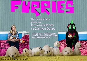 'Furries' by Carmen Dobre at the Rue de l'Exposition gallery