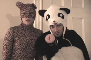Cheetah and Panda in 'The Honey Cooler'