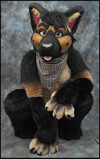 MixedCandy German Shepherd fursuit