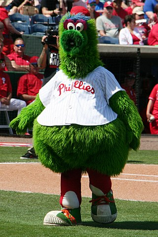 Phillie Phanatic by Terry Foote/CC-BY-SA
