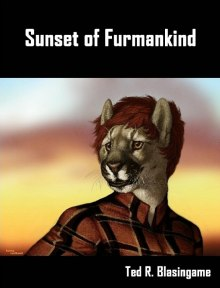 Sunset of Furminkind; cover by Ashley Leuthardt