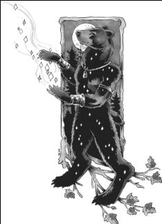 Ursa Major illustrated by Heather Bruton