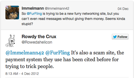 Immelmann and Rowdy the Crux discuss FurFling