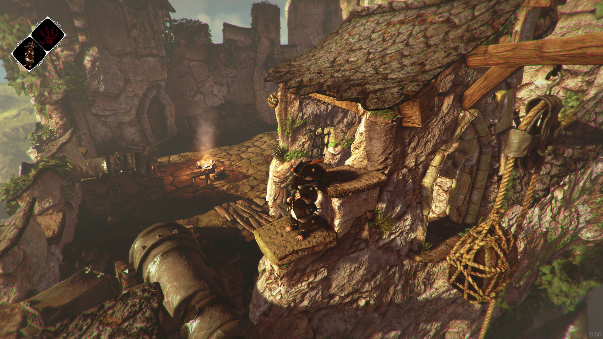 Landscape view in 'Ghost of a Tale'
