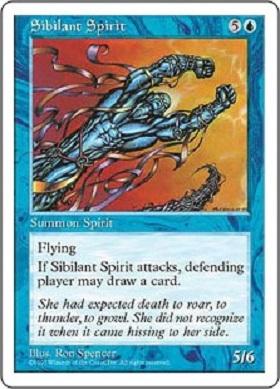 Sibilant Spirit card