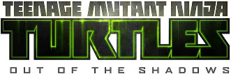 'Teenage Mutant Ninja Turtles: Out of the Shadows' logo