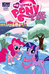 My Little Pony: Friendship is Magic #3 B-cover