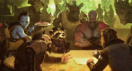 Rocket Raccoon and friends