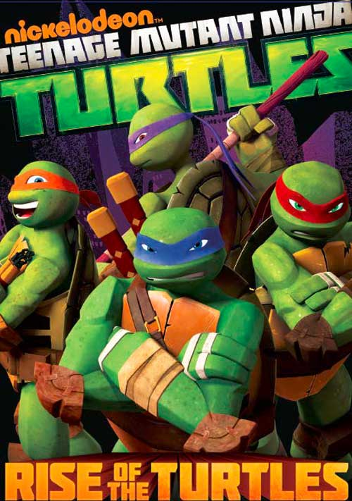 TMNT Rise of thee Turtles DVD