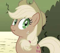 Applejack Poker Face