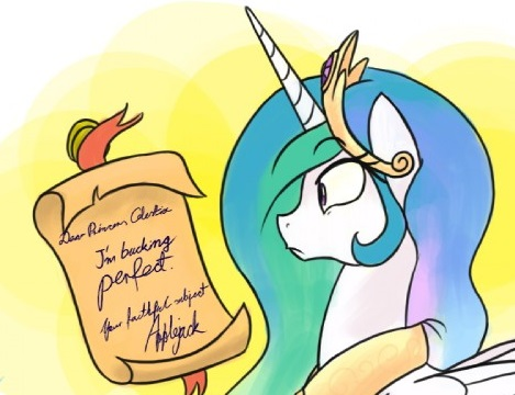 Applejack Month Princess Celestia