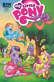 My Little Pony: Friendship is Magic #4 (A cover)
