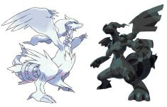 Pokémon Black and White legendaries