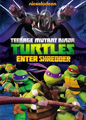 TMNT Enter Shredder DVD
