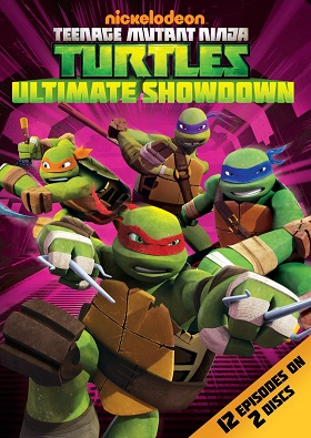 TMNT Ultimate Showdown DVD front cover