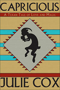Book cover with a satyr-like silhouette