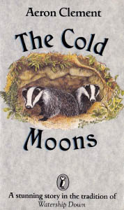 A different book cover, also showing badgers.