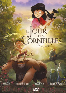 French DVD cover of 'The Day of the Crows
