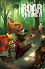 The cover of Roar volume 8.