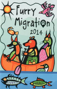 Furry Migration 2014 con booklet