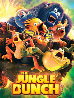 The film poster for The Jungle Bunch. (The frogs are sidekicks)