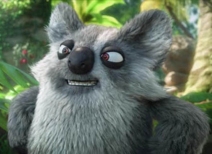 Igor, the evil, scheming koala, with a face you can trust.
