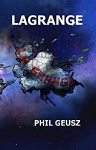 The book cover, showing the fragmentary remains of something floating in space.