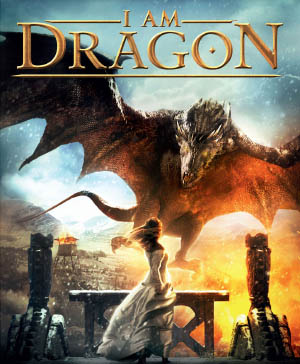 The dragon swoops down on Mira to carry her away from her town. She never stands in that location during the film.